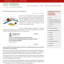 » Do Green lance le Symba avec CitizenCan