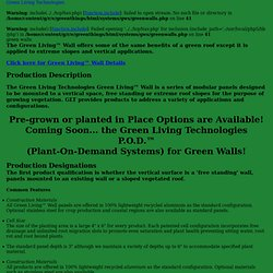 Green Living Technologies, LLC - Green Walls and Green Roofs - Green Walls