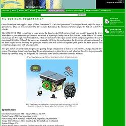 Green Motorsport - The GMS DUAL POWERTRAIN™