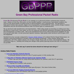 Green Bay Professional Packet Radio