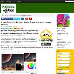 Green Screen by Do Ink - Skapa filmer med green screen effekter