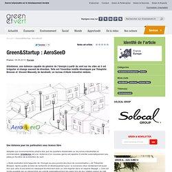 Green&Startup : AeroSeeD