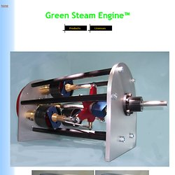 Green Steam Engine Home Page