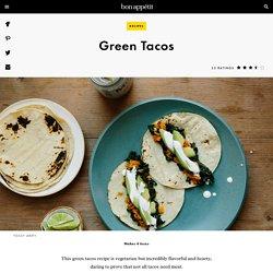 Green Tacos Recipe