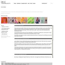 JENNY WATSON : GREENAWAY ART GALLERY : ADELAIDE AUSTRALIA
