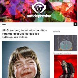 Jill Greenberg tomó fotos de niños llorando después de que les quitaron sus dulces
