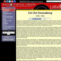 Uri Zvi Greenberg
