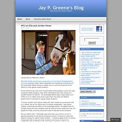 Jay P. Greene's Blog