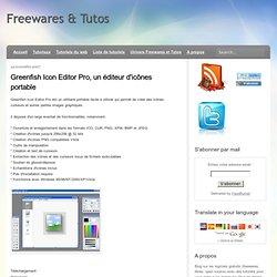 Greenfish Icon Editor Pro, un éditeur d'icônes portable