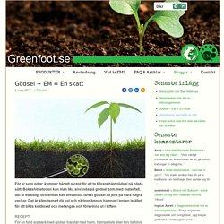 Greenfoot - Effektiva Mikroorganismer