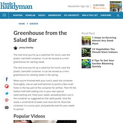 Greenhouse from the Salad Bar