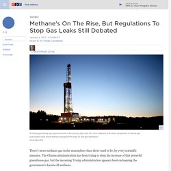 Greenhouse Gas Regulations Of Methane May Be First To Be Repealed