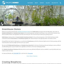 Best Geodesic Greenhouses - Dome Greenhouse Kits for Sale