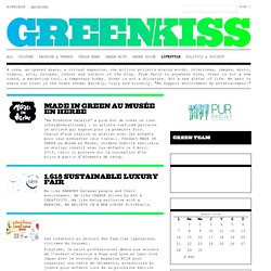 Greenkiss Lifestyle
