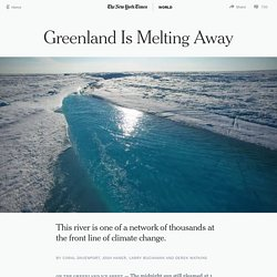 Greenland Is Melting Away