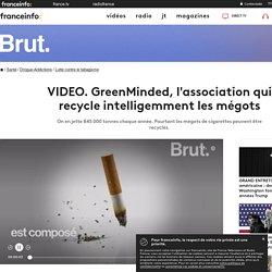 GreenMinded, l'association qui recycle intelligemment les mégots
