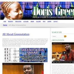 DORIS GREEN, African Dance & Music Historian