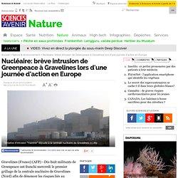 Nucléaire: intrusion de Greenpeace déjouée à Gravelines, journée d'action en Europe