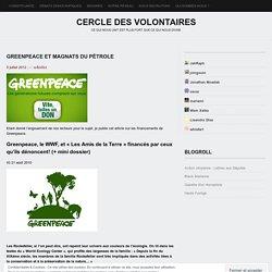 Greenpeace et magnats du pétrole