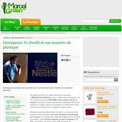 Greenpeace Vs Nestlé et son monstre de plastique