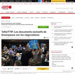 Tafta/TTIP. Les documents exclusifs de Greenpeace sur les négociations