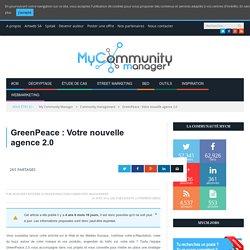 GreenPeace : votre nouvelle agence 2.0