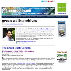 The Green Walls Column