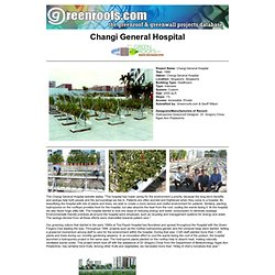 Projets Greenroofs.com - Changi General Hospital