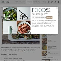 Fried Greens Meatlessballs Recipe on Food52