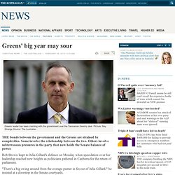 Greens' big year may sour