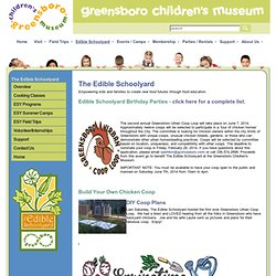 Greensboro Children's Museum - Edible Schoolyard