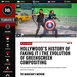 The Evolution of Greenscreen Compositing