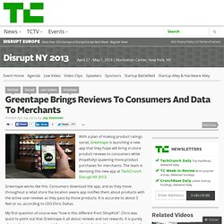 Greentape Brings Reviews To Consumers And Data To Merchants