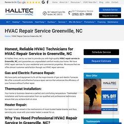 HVAC Repair in Greenville, NC