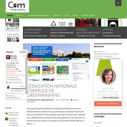 Com&Greenwashing - Le blog de la communication responsable