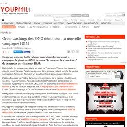 Greenwashing: des ONG dénoncent la nouvelle campagne H&M
