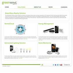 GreenWave Reality » Solutions