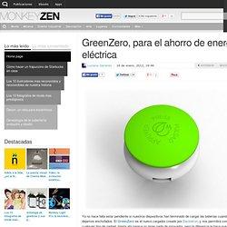 GreenZero, para el ahorro de energía eléctrica