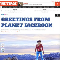 Greetings from Planet Facebook