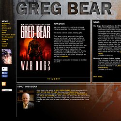 Greg Bear: The Official Site