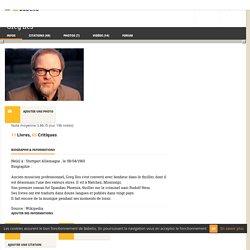 Greg Iles : Biographie ; 14 vidéos et Critiques ; 11 Livres (Résumés et Critiques) - Babelio