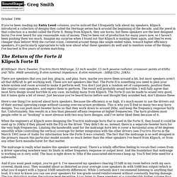 Greg Smith Reviews....