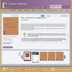 ePub : L'amour et les « poupées russes », ebook, Editions Grégoriennes, MARTINGAY Claude