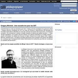 Grégory Michnik : Une nouvelle ère pour les SVT