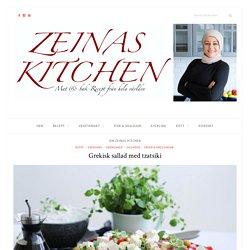 Grekisk sallad med tzatsiki