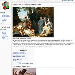 Grekland, Iliaden och Odysséen - Skolbok