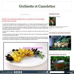 Risotto aux Moules de Bouchot, au Cidre et à la Sarriette, pincée de Curcuma