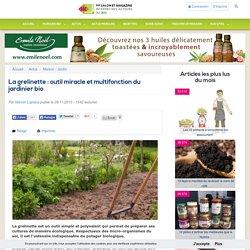 La grelinette : outil miracle et multifonction du jardinier bio