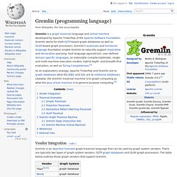 Gremlin (programming language)