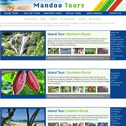 Grenada Sightseeing Tours Selection from Mandoo Tours & Taxi Service